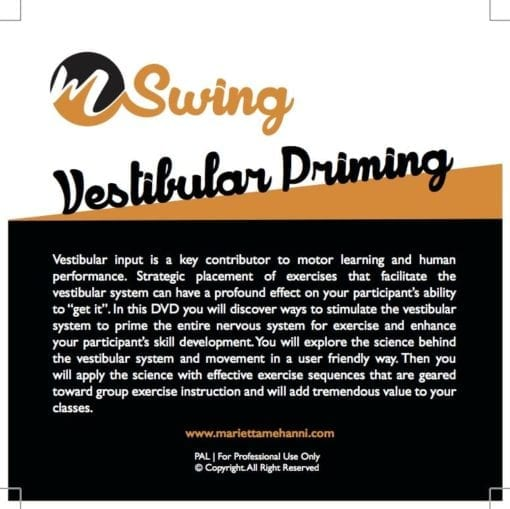 mSwing vestibular DVD