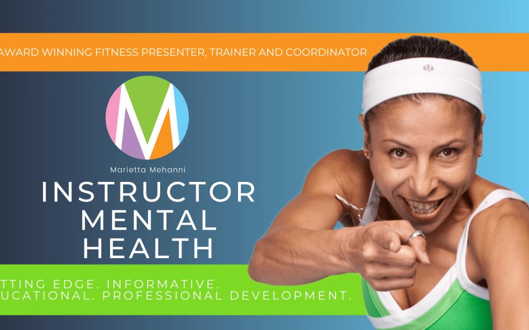 Instructor Mental Health