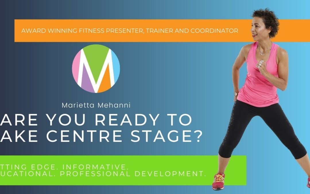 Group Fitness instructor: ARE YOU READY TO TAKE CENTRE STAGE?
