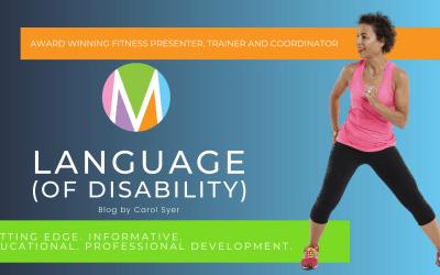 Language (of Disability)